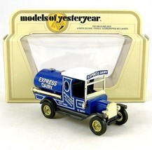 MATCHBOX MODELS OF YESTERYEAR Y-3 EXPRESS DAIRY 1912 FORD MODEL T 1:35 - $9.89