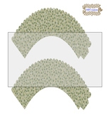 CupCake Wrapper3-Digital Clipart-Holiday-Gift Tag-Digital Paper-Party - $2.00