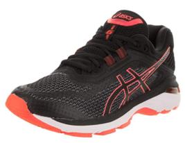 Asics GT 2000 v 6 Size 6.5 M (B) EU 37.5 Women's Running Shoes Black Coral T855N