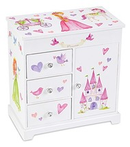 JewelKeeper Unicorn Musical Jewelry Box with 3 Pullout Drawers, Fairy Pr... - €35,88 EUR