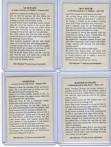 Lot of 4 promo card book marks GGA pulp fiction sleaze dime novels image 2