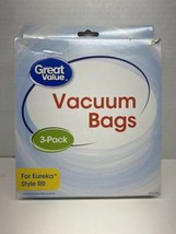 Great Value 3 Pack Eureka Style RR Vacuum Bags 2231 for 4800 Series of Uprights  - $4.94