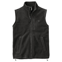 Timberland Men's Bellamy River Fleece Black Vest Style A114S - $39.99
