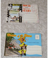 Homes Of The Stars Picture Folios Lot Marilyn Monroe Jerry Lewis Liberac... - $17.99