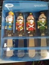 Boston Warehouse Nutcracker Spreaders Set of 4 In Original Box unused - $230,05 MXN