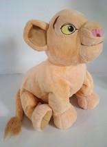 Medium Disney Parks The Lion King Nala Cub Soft Plush Stuffed Doll Toy 1... - $11.87