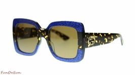 Gucci Women Square Sunglasses GG0083S  Square 55mm Authentic - $275.00
