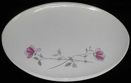 Franciscan DUET PATTERN Small OVAL PLATTER Made in California - $14.84