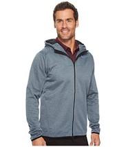 Nike Therma Mens Full Zip Golf Jacket Hoodie 854406 454 Armory Blue - $55.21