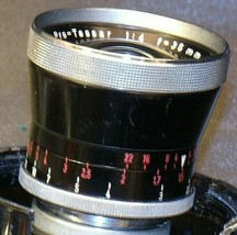 Carl Zeiss Pro-Tessar Lens f=35mm with fitted Zeiss Ikon Case AA-192034 Vintage image 1