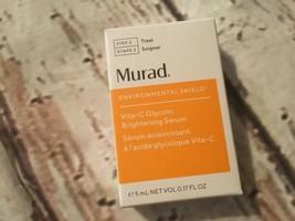 Murad Step 2 treat environmental shield  brightening serum .17 oz travel new - $9.49