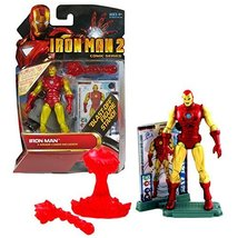 IRONMAN Marvel Year 2009 2 Comic Series 4 Inch Tall Figure #26 - Iron Man with R - $31.99