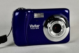 Vivitar ViviCam X018 10.1MP Digital Camera swiveling display Blue Photo ... - $14.24