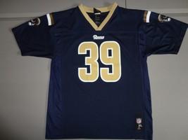 Blue St. Louis Rams #39 Steven Jackson Youth XL Screen NFL Team Apparel ... - $21.77