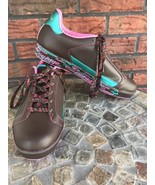 Pastry Ladies Tennis Shoes Thin Mint Leather Size 10 Confidence Courage ... - $23.03
