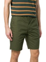 Levi's Strauss Men's Classic Cotton Straight Chino Shorts Army Green Size 42