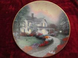 THOMAS KINKADE Home Sweet Home collector plate Home Is Where the Heart I... - $19.95