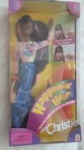 Vintage Happenin' Hair Christie AA Barbie Doll 1998 New #22883 Mattel - $37.39