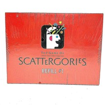 Milton Bradley The Game of Scattergories, Refill #1 1989  New Sealed - $49.88
