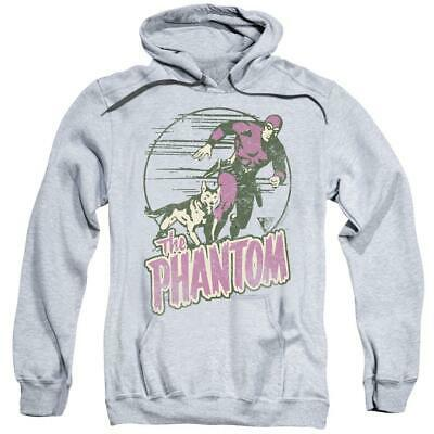 The Phantom hooded sweatshirt retro comics distressed graphic hoodie WSF180