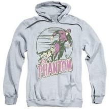 The Phantom hooded sweatshirt retro comics distressed graphic hoodie WSF180 image 1