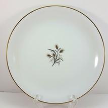 "Noritake Wheatcroft 5852 Salad Plate 8"" White and Gold - $9.03"