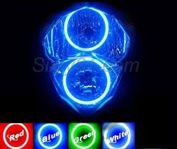 Suzuki GSXR 1000 2001-2002 Headlight Halo Angel Eye LED Plasma COB Ring ... - $79.00