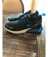Nike Air Max 270 Black Photo Blue Blue Fury AH8050 019 Mens Size 10 Bran... - $153.45
