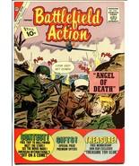 Battlefield Action #40 1962-Charlton-Roy Lichtenstein-Angel of Death-NM - $303.13
