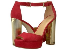 Michael Kors Paloma Platform Scarlet - $111.20