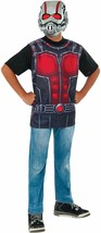 Ant-Man Costume Shirt and Mask, Child's Large  - $18.04