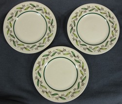 Royal Doulton ALMOND WILLOW D6373 Bread & Butter Plates Lot of 3 - $19.95