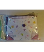 Package of 8 Thank you Notes Folded Diaper Blank Inside Cards - $4.94