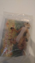 TIMON LION KING ACTION FIGURE NEW IN PACKAGE, TIMON & PUMBAA PROMOTION ITEM - $9.90