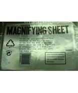 Acrylique Magnifiant Feuille Optique Qualité Agrandir Petit Type 25.4x17... - $2.94