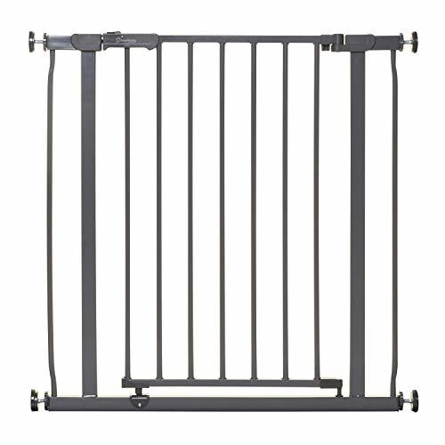 Dreambaby Ava Baby Safety Gate (Charcoal, 29.5-32 inches)