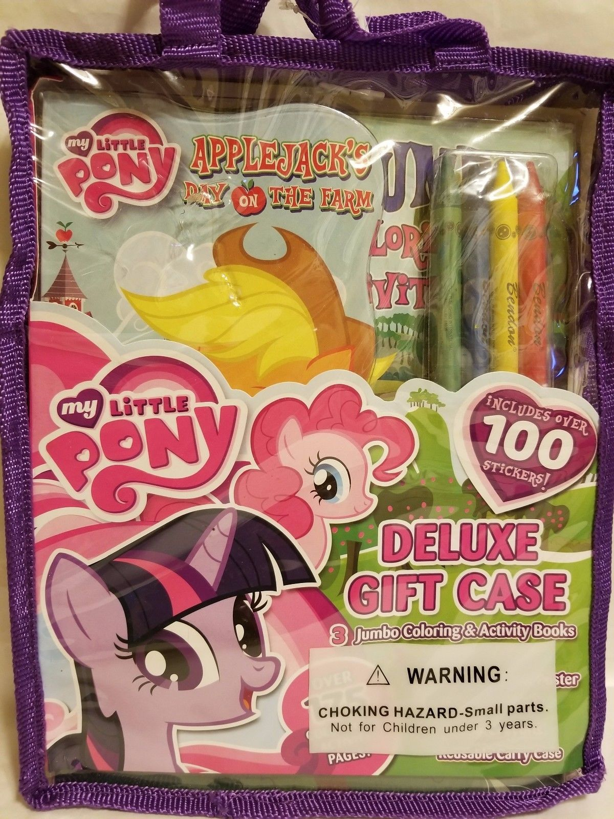Lot 3 My Little Pony Deluxe Gift Case and 50 similar items