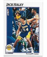 1991-92 Hoops #383 Jack Haley NM-MT Lakers - $0.99
