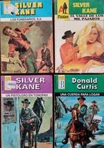 Lot of 4 Mini Books en Espanol: Silver Kane/Donald Curtis SK-DC - $6.00