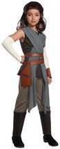 Rey Star Wars Last Jedi Knight Fancy Dress Up Halloween Deluxe Child Cos... - $38.51