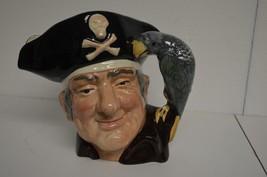 Royal Doulton Character LONG JOHN SILVER LARGE Toby Jug D-6355 1951 MINT... - $81.29