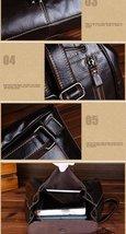 Fashion vintage women backpack daily school bag shoulder travel bag genuine leather 1 thumb200