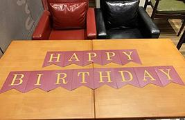 Burgundy Teal Gold Birthday Party Decorations Burgundy Gold Happy Birthday Banne image 5