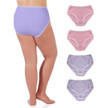 LesaMade Hi-Rise Full Brief Plus Size 2XL 3XL 4XL 5XL Cotton Women Under... - $59.90