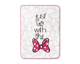 """Minnie Mouse Pink & White Throw Blankets (46""""x60"""") - $36.99"""
