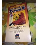 Jim Hensons Muppet Video Rowlf's Rhapsodies VHS Tape Playhouse Video RARE - $90.20