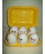 Tomy Hide & Squeak Eggs in Carton Shape Sorter Educational Toy Vintage 1993 Rare - $39.59