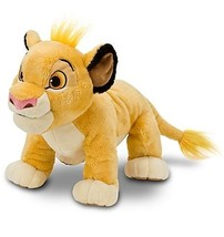 "Disney The Lion King Simba Plush -- 11"" - $23.98"