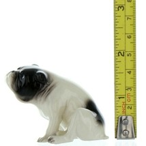 Hagen Renaker Pedigree Dog Bulldog Black and White Ceramic Figurine image 2