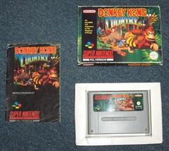 Donkey Kong Country Nintendo Super NES SNES Video Game, Box, Manual, PAL... - $49.95